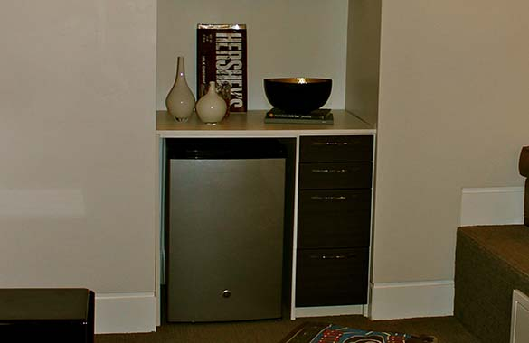 How To Make The Best Of Your Kitchenette: That's Entertainment! Install A Kitchenette