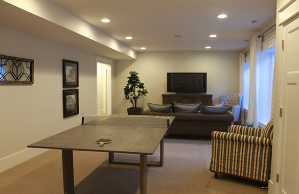 Basement Feature for Gaming