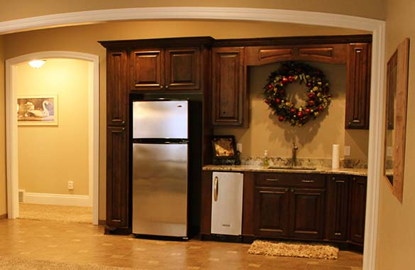 basement kitchenette example