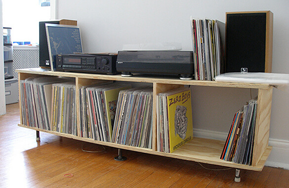 Vinyl Record Storage Unit