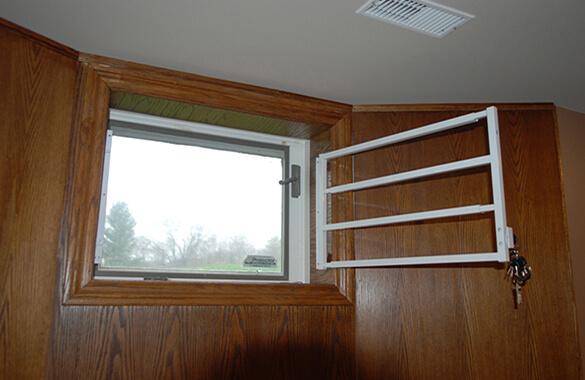 Bars on Basement Windows