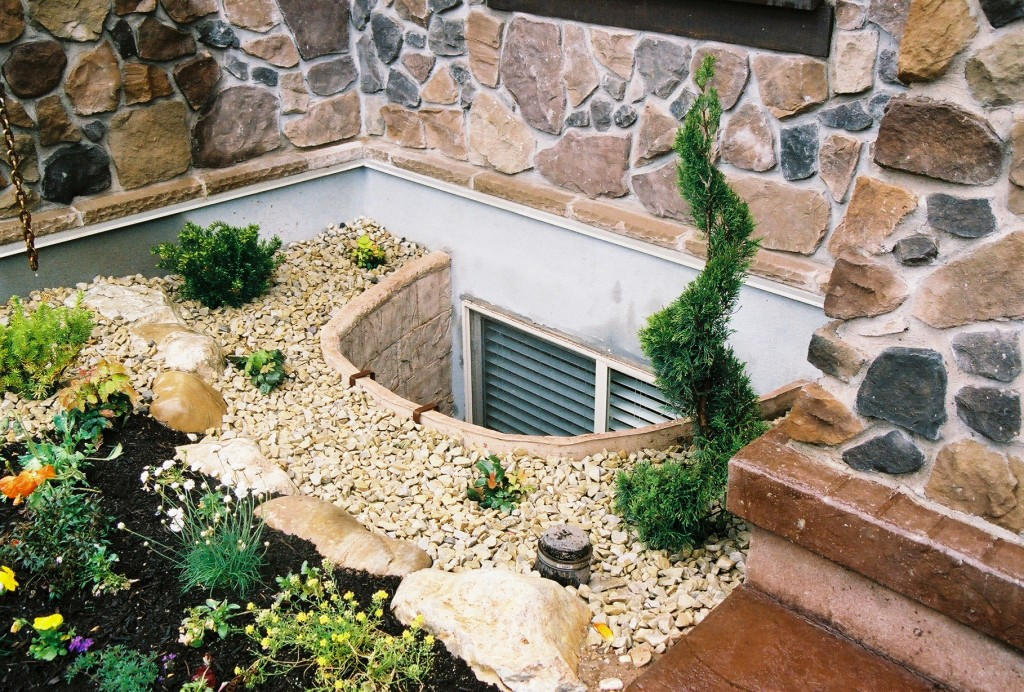 Creating A Window Well Garden | RockWell Window Wells